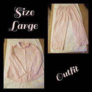 VS Matching PJ Outfit Size Large